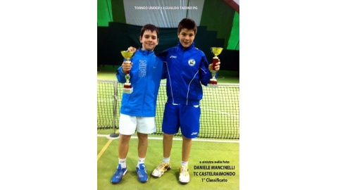 juniores del Tennis Club Castelraimondo