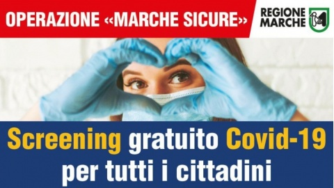 screening di massa di Marche sicure